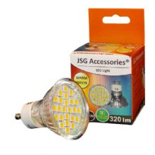GU10 LED Bulb  5W Spot Lamps with 24 x 5050 SMD chips in WARM WHITE = 50W - 60W Halogen